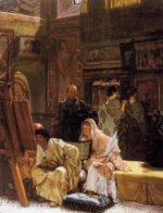 The Picture Gallery - Sir Lawrence Alma-Tadema oil painting