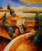 Venetian Sunset - Oil Painting Reproduction On Canvas