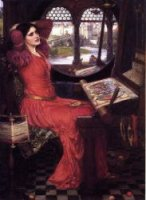I am Half Sick of Shadows,' said the Lady of Shalott - Oil Painting Reproduction On Canvas