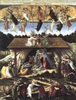The Mystical Nativity - Sandro Botticelli oil painting