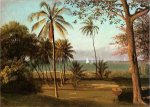 Florida Scene - Albert Bierstadt Oil Painting