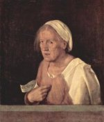 The Old Woman - Oil Painting Reproduction On Canvas