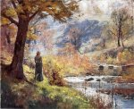 Morning by the Stream - Theodore Clement Steele Oil Painting