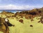 The Coast of Brittany - James Abbott McNeill Whistler Oil Painting