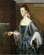 Mrs. Daniel Sargent (Mary Turner Sargent) - Oil Painting Reproduction On Canvas
