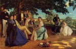The Family Gathering - Oil Painting Reproduction On Canvas