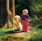 Forest Friends - Donald Zolan Oil Painting