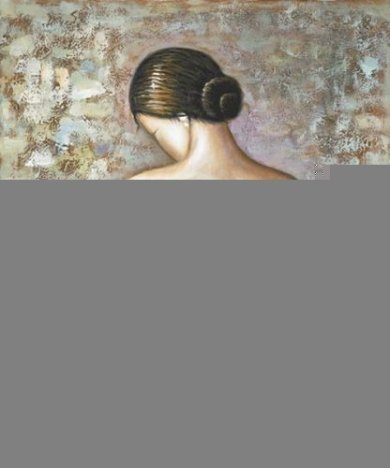 Soft Figure (Sienna Background) - Oil Painting Reproduction On Canvas