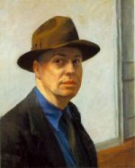 Self-Portrait - Edward Hopper Oil Painting