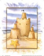 Sandcastle and Pentagram - Oil Painting Reproduction On Canvas