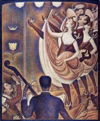 Chahut - Georges Seurat Oil Painting
