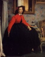 Portrait of Mademoiselle L. L. - Oil Painting Reproduction On Canvas