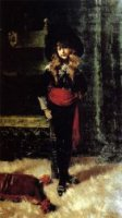 Elsie Leslie Lyde as Little Lord Fauntleroy - William Merritt Chase Oil Painting