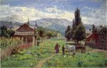 Cumberland Mountains - Theodore Clement Steele Oil Painting