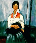 Gypsy Woman With Baby II - Oil Painting Reproduction On Canvas