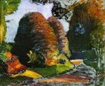 Luxembourg Gardens - Henri Matisse Oil Painting