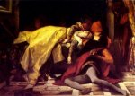 The Death of Francesca da Rimini and Paolo Malatesta - Alexandre Cabanel Oil Painting,