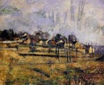 Landscape III - Paul Cezanne Oil Painting