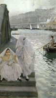 In the Harbour of Algiers - Oil Painting Reproduction On Canvas