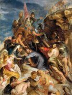 Carrying the Cross 2 - Peter Paul Rubens Oil Painting