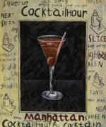 Manhattan Hour - Oil Painting Reproduction On Canvas