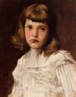 Portrait of Dorothy - William Merritt Chase Oil Painting Mary Cassatt Oil Painting