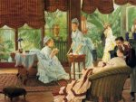 In the Conservatory - Oil Painting Reproduction On Canvas