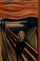 The Scream III - Edvard Munch Oil Painting