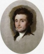 Jared Sparks - Gilbert Stuart Oil Painting