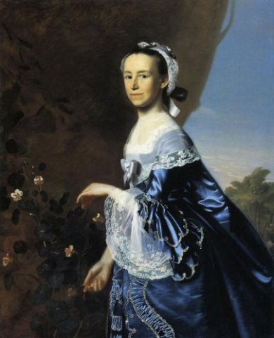 Mrs. James Warren (Mercy Otis) - Oil Painting Reproduction On Canvas