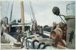 Deck of a Beam Trawler, Gloucester - Edward Hopper Oil Painting