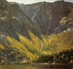 Great Basin, Mount Katahdin, ,Maine - Frederic Edwin Church Oil Painting