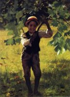 How d'ye - John George Brown Oil Painting