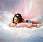 Sisterly Love - Donald Zolan Oil Painting