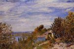 Footpath in the Gardens at By - Alfred Sisley Oil Painting