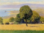 outskirts of Lausanne - Felix Vallotton Oil Painting