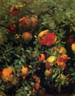 Pomegranates III - John Singer Sargent Oil Painting