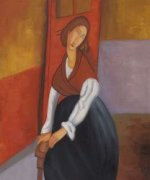 Jeanne Hebuterne II - Oil Painting Reproduction On Canvas