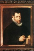 Christoffel Plantin - Peter Paul Rubens Oil Painting