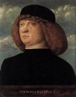 Portrait of a Young Man IV - Giovanni Bellini Oil Painting