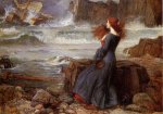 Miranda-the Tempest - Oil Painting Reproduction On Canvas