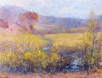 Late Autumn - Robert Vonnoh Oil Painting