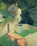 A Vallon Landscape - Felix Vallotton Oil Painting