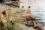 Out - Anders Zorn Oil Painting
