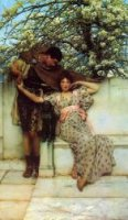 Promise of Spring - Sir Lawrence Alma-Tadema oil painting