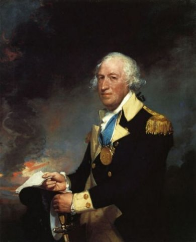 Horatio Gates - Gilbert Stuart Oil Painting