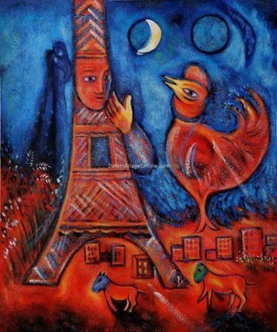 Bonjour Paris, 1939-1942 - Oil Painting Reproduction On Canvas