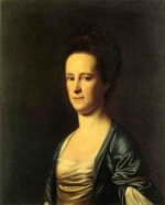 Mrs. Elizabeth Coffin Amory - Oil Painting Reproduction On Canvas