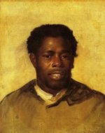 Head of a Negro - John Singleton Copley Oil Painting