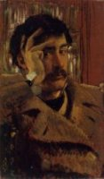 Self Portrait V - James Tissot oil painting
